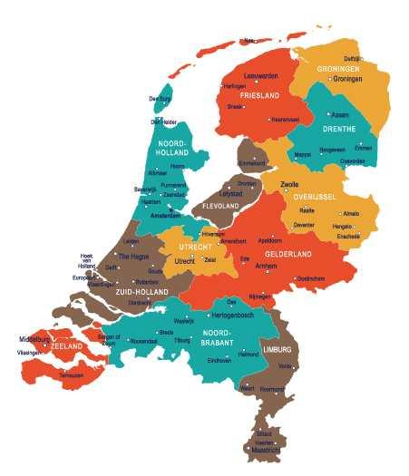 Ruim 3000 partnerbedrijven in geheel Nederland