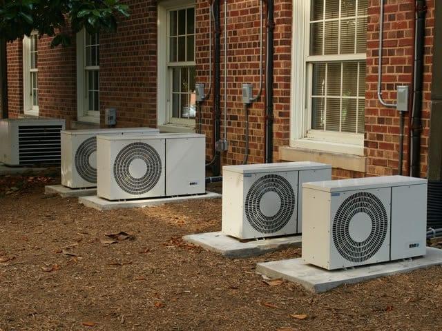 Buitenunit airconditioning