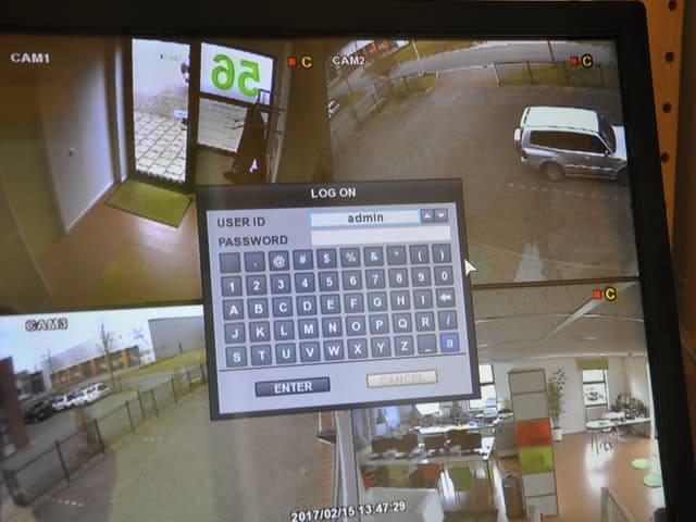 Monitor bewakingssysteem ook mogelijk via uw smartphone