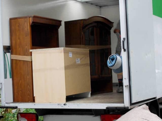 Professionele voertuigen en verhuisapparatuur